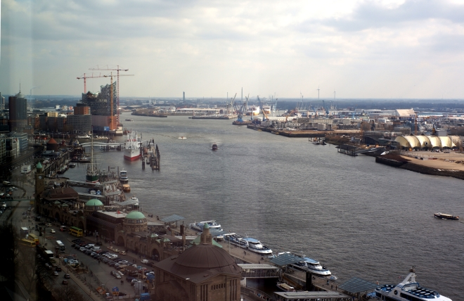 Hamburg, harbour